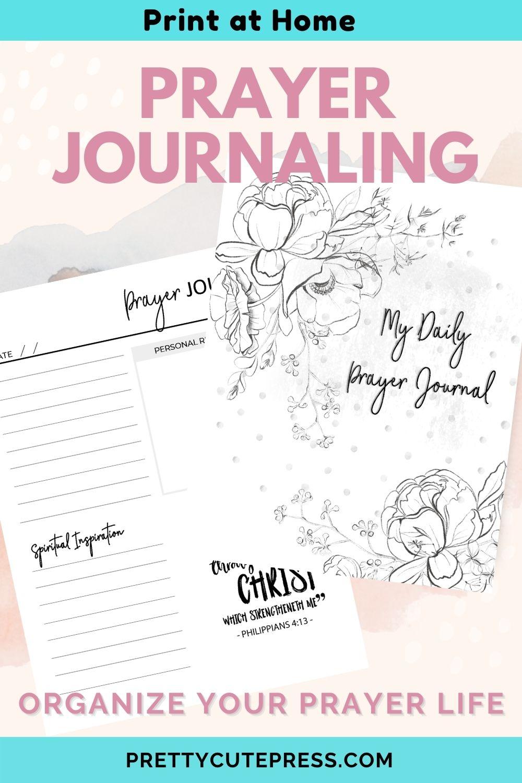 Printable Prayer Journal for Women of Faith