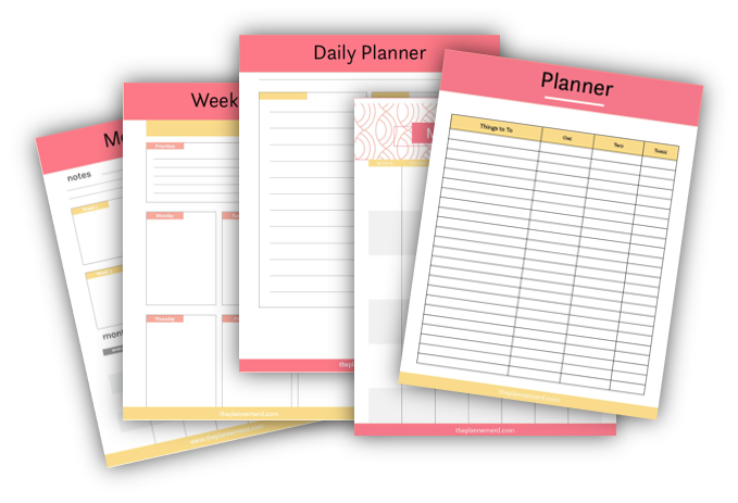 the planner nerd free gift
