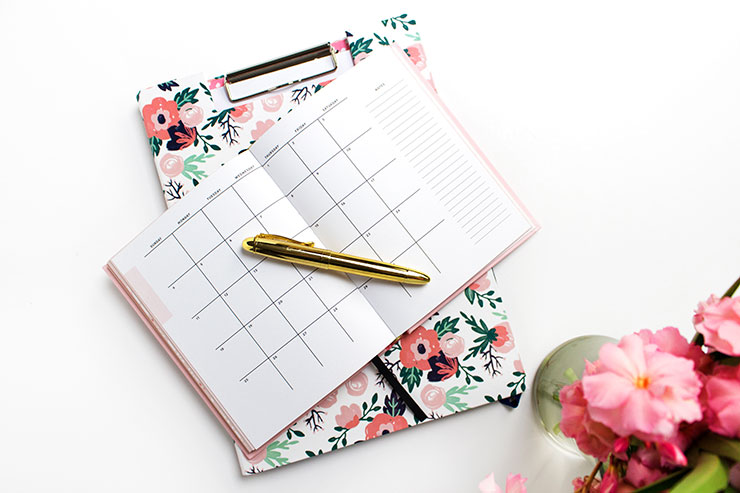 Setting Up Your New Planner